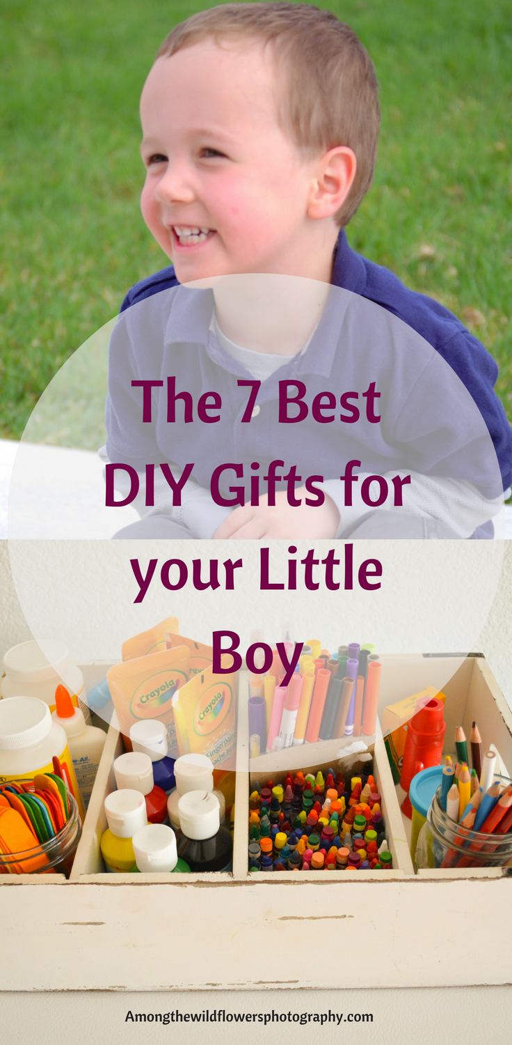 DIY gifts for little boys