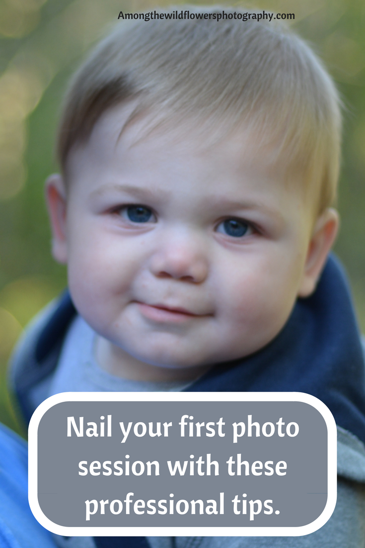 Nail your first photo session