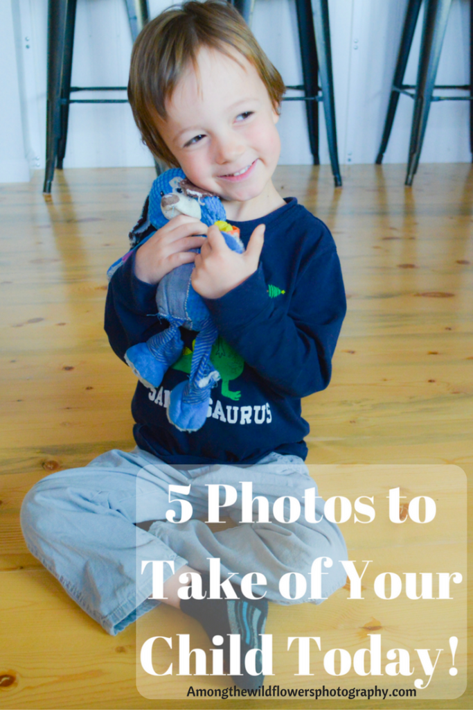 Photos to take of your child