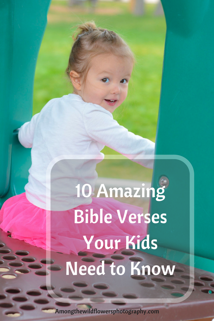Bible verses to teach kids